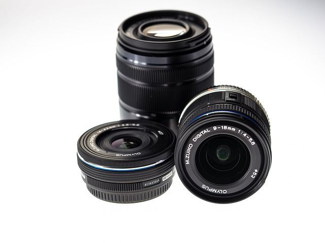 camera lenses photo