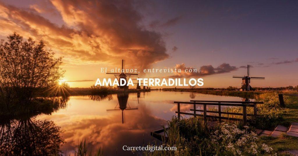 2. El altavoz, entrevista con Amada Terradillos