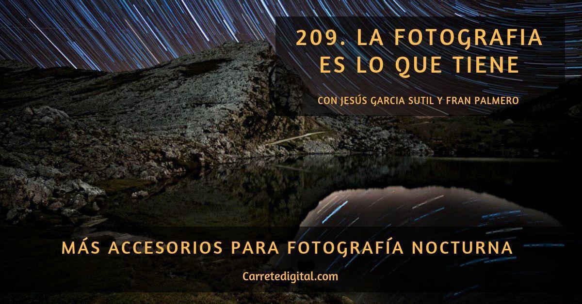 accesorios fotografía nocturna