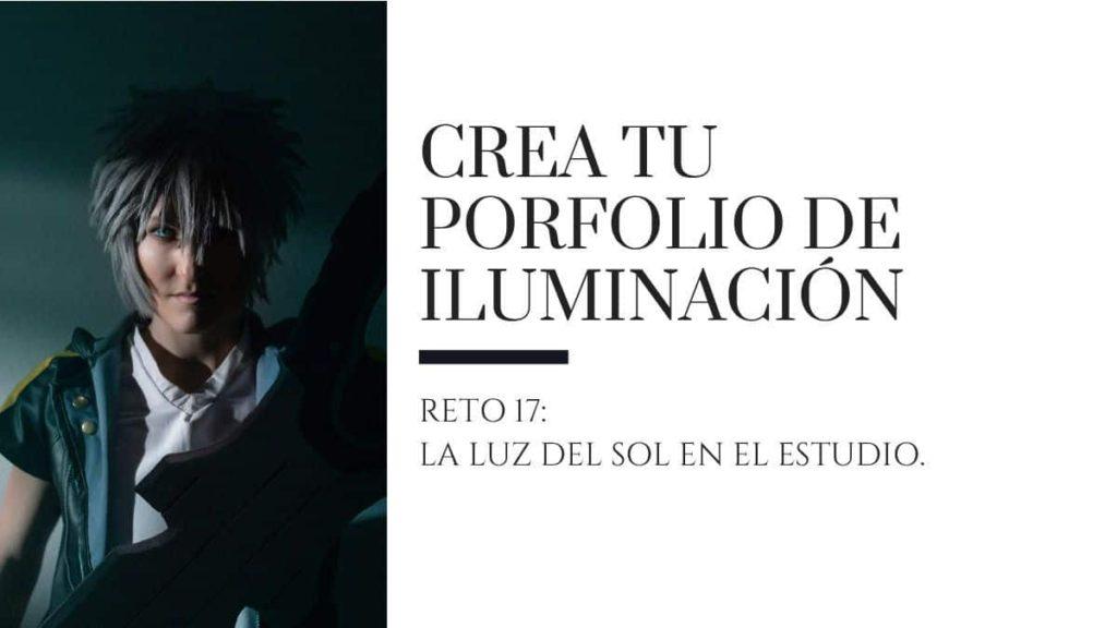 porfolio de iluminacion reto 17 la luz del sol en el estudio Ricardo Espiau blog