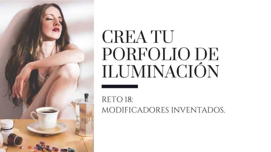 porfolio de iluminacion reto 18 modificadores inventados Ricardo Espiau cabecera blog