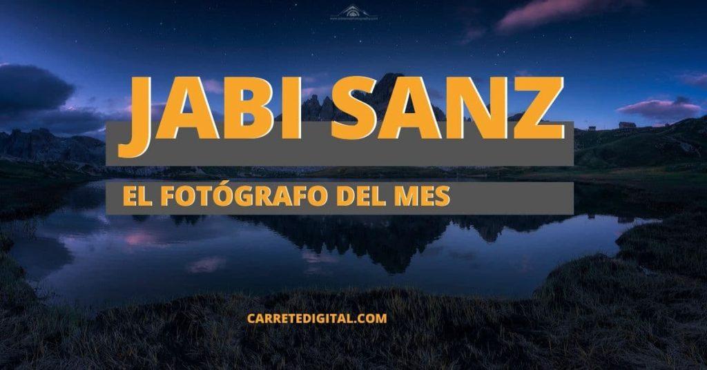 jabi sanz fotografo de la semana carrete digital