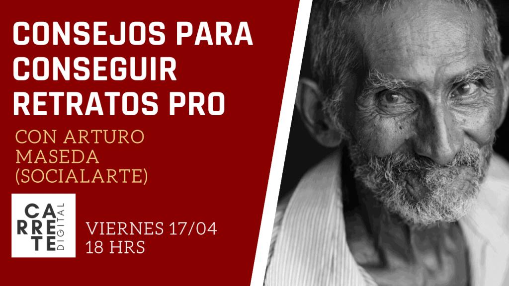 conserjos retrato Socialarte en Carrete Digital