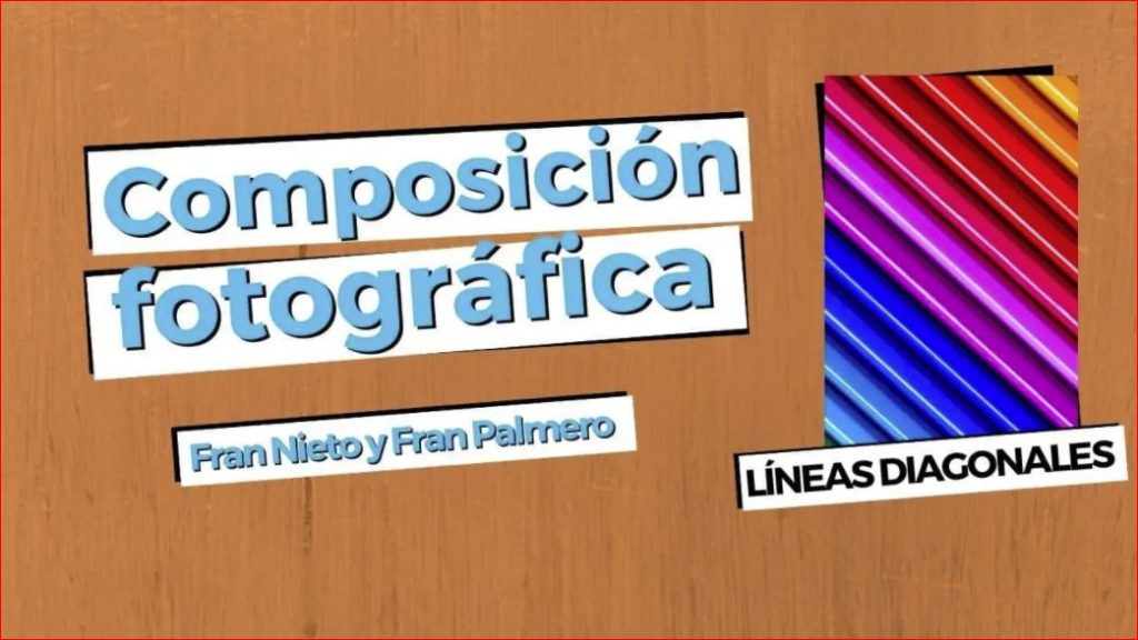 composición lineas diagonales