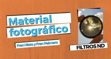 filtros nd en carrete digital